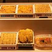 市場で毎日仕入れる極上の新鮮食材に、店主の目利きが光る