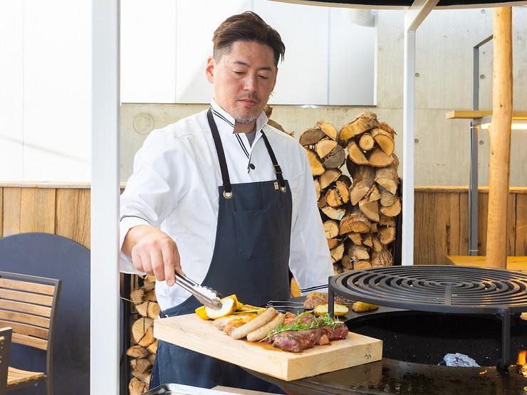 ゲスト目線のサービス、ゲストの満足を考えた料理を提供