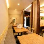和モダンのおしゃれな空間で楽しむ、型にはまらないうなぎ料理