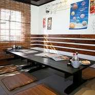 こだわりの沖縄料理での接待はいかがですか。 普段とは異なる雰囲気やお料理でおもてなしさせて頂きます。
