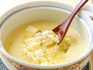 冬限定の逸品『茶碗蒸し 鱈白子とクリームチーズ』