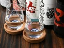 気軽に、そしてちょっとお洒落に。日本酒をグラスでどうぞ