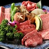 黒毛和牛焼肉&本場韓国料理がラインナップした期間限定特別コースです。