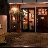 テラス席は開放的な気分でイタリア料理が味わえる憩いのスポット