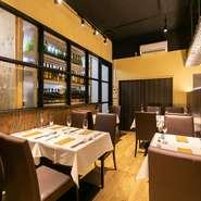 コース料理を味わう10席限定の「ワインマンズテーブル」