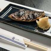 多彩な料理ジャンルを経験した腕が生きる『旬のお魚の柚庵焼き』