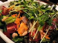 季節の野菜たっぷりのヘルシーサラダです。 ✳︎季節により内容は変わります。