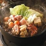 """名物 """"鶏すき鍋"""""""