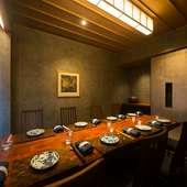 至高の晩餐会を個室で楽しむ