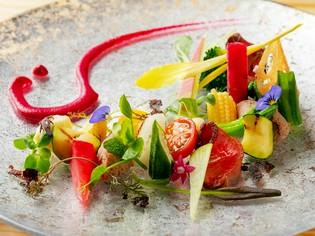 奈良の四季を感じる『大地の一皿 吉野鹿 大和野菜 片上醤油』