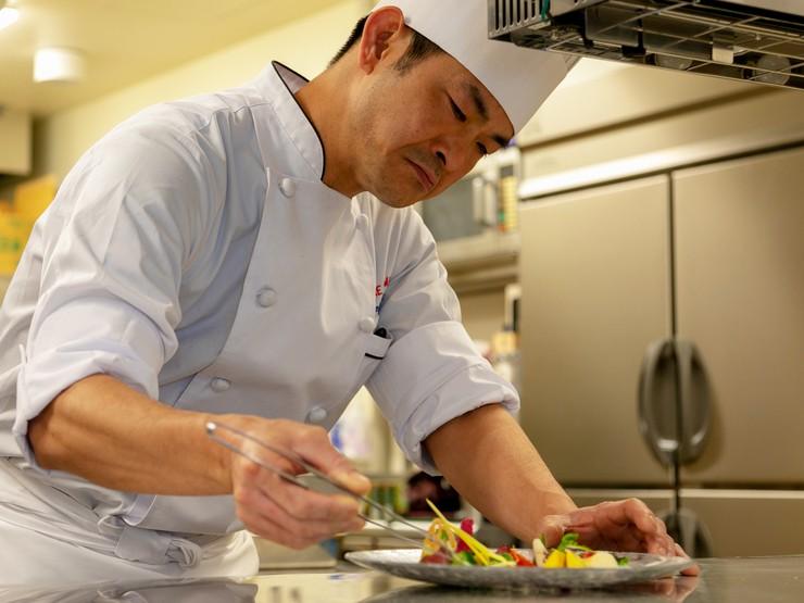 食材ごとに最適な調理法を見出し、本来の旨みを最大限に引き出す