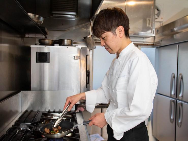 フランスでの修業経験を生かした技術で、東北食材を美味しく昇華