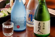 """旬魚や季節のお料理が味わえる、2.5時間飲み放題が付いた""""のちに結""""のご宴会コースです。"""
