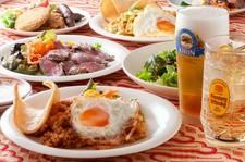 土佐あかうし料理とバリ料理を楽しめる、SAMASAMAの魅力をたっぷり詰め込んだご宴会コースです。