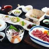 優雅な気分に浸れる上質な日本料理を楽しむ「彩美味懐石」