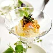 """小さな味わいから広がる、""""これからのお料理""""への期待を膨らませてくれます。"""