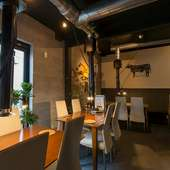 時間を忘れて食事を楽しめる。落ち着いて過ごせる大人の空間