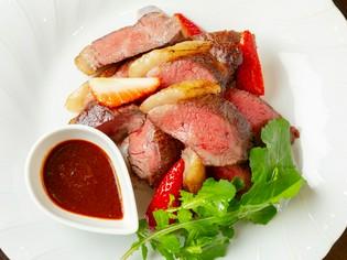 魅力を引き出すのは料理人の技『大和牛イチボ肉のロースト』