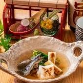 期間限定のお楽しみ『長良川産すっぽん 丸鍋』