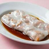 ぷるぷるの食感・喉越しがたまらない味わい『腸粉 中国式クレープ 各種』