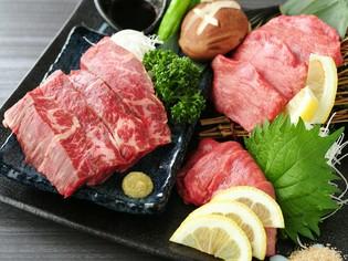 品質本位で吟味された「和牛」をはじめとしたチルドの上質な肉