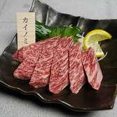 とろけるような食感がクセになる、A5ランクの「仙台牛」に舌鼓