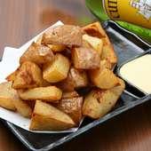 芋本来の美味しさと甘みを楽しめる『ポテトフライ』