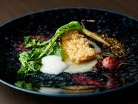 和×洋の技と趣向が美しく調和した傑作の一皿『甘鯛うろこ焼き』