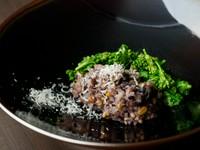 〆のご飯にも驚きと新しさが満ちる! 二十穀米の『おかゆ』