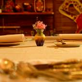 世界を旅する気分を楽しめるロシア料理を二人で満喫