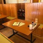 沖縄定食・おつまみで女子会・ママ会にもおすすめ
