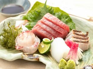 四季折々の地魚・鮮魚を厳選仕入れ。おすすめメニューで提供