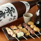 新潟の銘酒『景虎』など、米の旨みに優れる日本酒をご用意