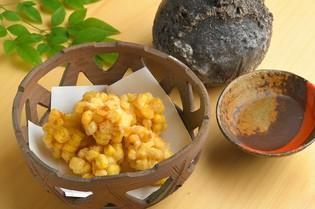 春夏秋冬の旬の味覚を堪能する『季節の天ぷら』