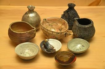 陶芸家による一点物の器をセレクト。「違い」を楽しむ大人の愉楽