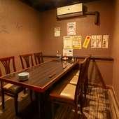 接待や家族の会食におすすめのテーブル個室