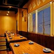 お集まりの皆様だけでゆったり過ごせる梅田茶屋町のくつろぎ空間