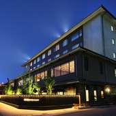 彦根城を臨むことができるホテル