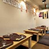 おすすめの酒と店主心尽くしの絶品料理を味わえる、憩いの空間