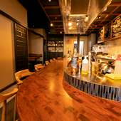 「古民家×モルタル」がコンセプトのお洒落な鉄板焼店