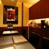 高級食材を使った料理とワイン。ゲストの心を満たすおもてなしを