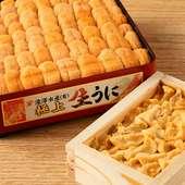 名古屋ではあまり味わえない、選りすぐりの高級ウニに自信あり