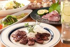 料理8品 + 2.5時間飲放題付 忘年会、新年会など各種ご宴会にオススメの『ちとから。宴会コース』