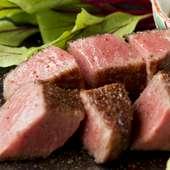 肉汁が「ジュワ~」っとあふれ出す『いちぼ(100g)』