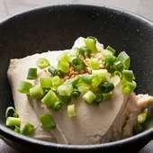 さっぱりとしたおいしさが魅力『かにみそ豆腐』