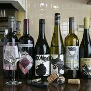 ソムリエとして選んだ遊び心のあるワインで話が膨らむ