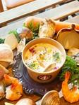 大量の渡り蟹を使った濃厚ソースは やみつきになる味わい 生パスタはお湯で2分半茹でるだけ