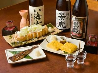 新潟の郷土料理を中心とした、おすすめおつまみ3種類