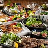 九州の食材を贅沢に楽しめる『九州いちコース』