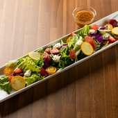 新鮮な季節野菜を存分に満喫『九州いちオリジナルサラダ』